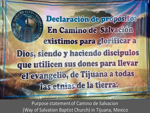 Baptist and Assemblies of God Churches on Mission in Baja